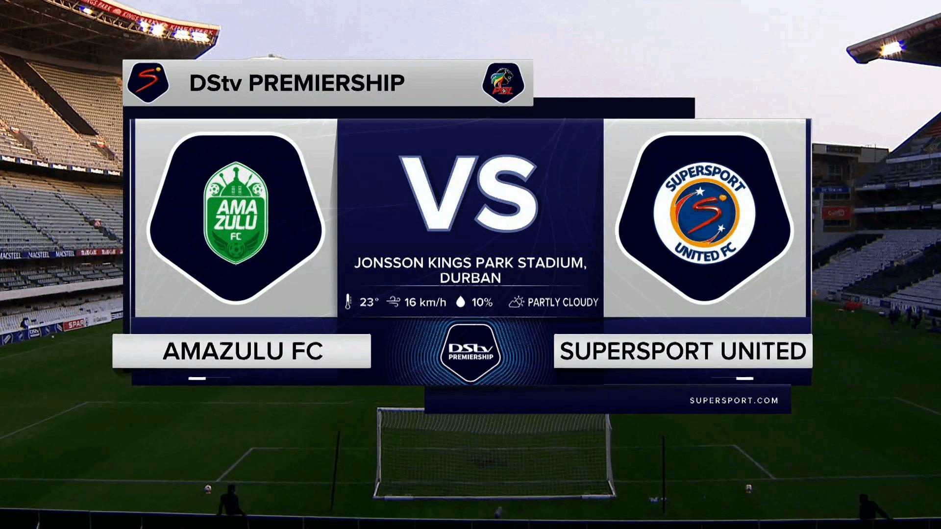 DStv Premiership | AmaZulu v SuperSport United | Highlights