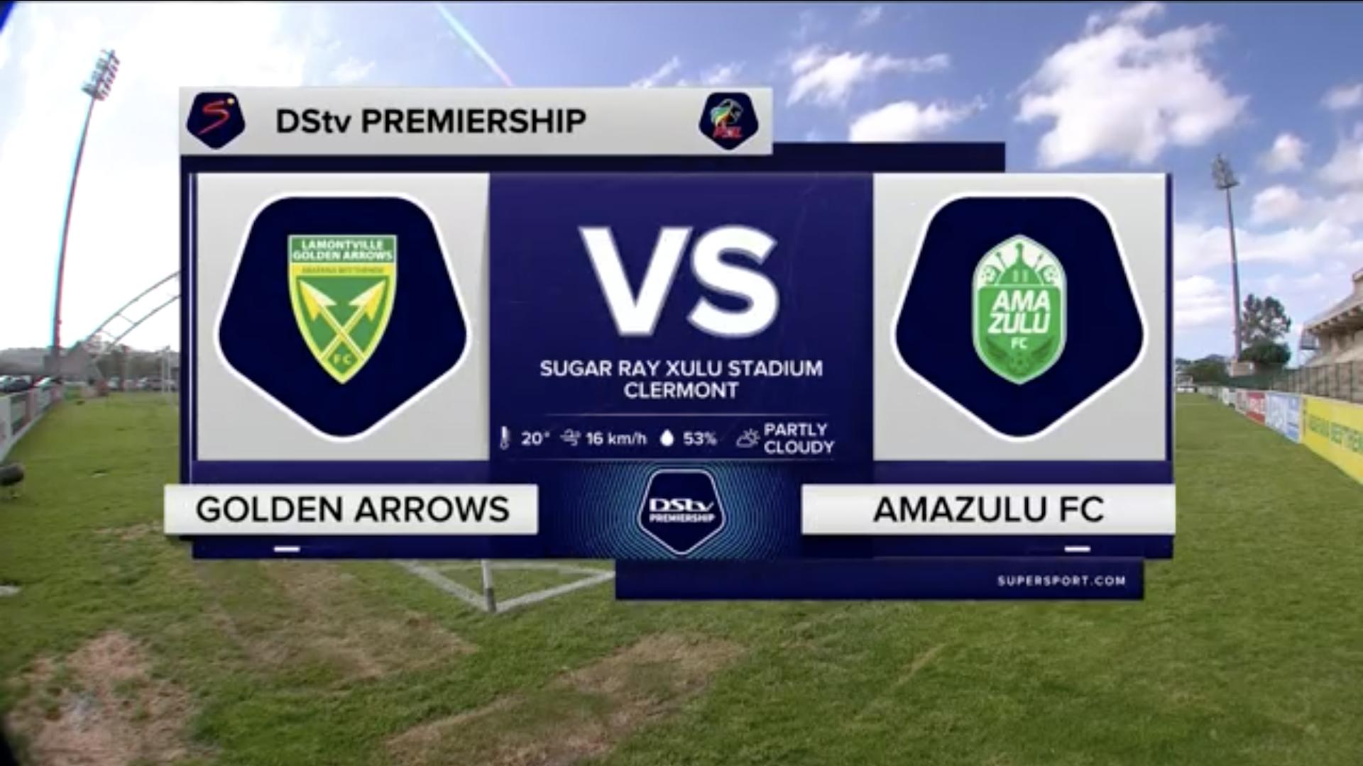 DStv Premiership | Golden Arrows v AmaZulu | Highlights