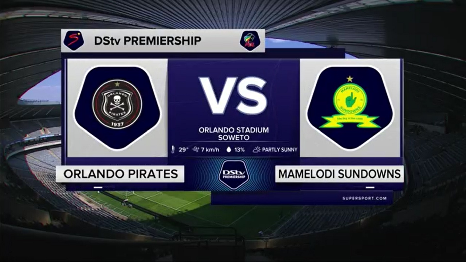 DStv Premiership | Orlando Pirates v Mamelodi Sundowns | Highlights