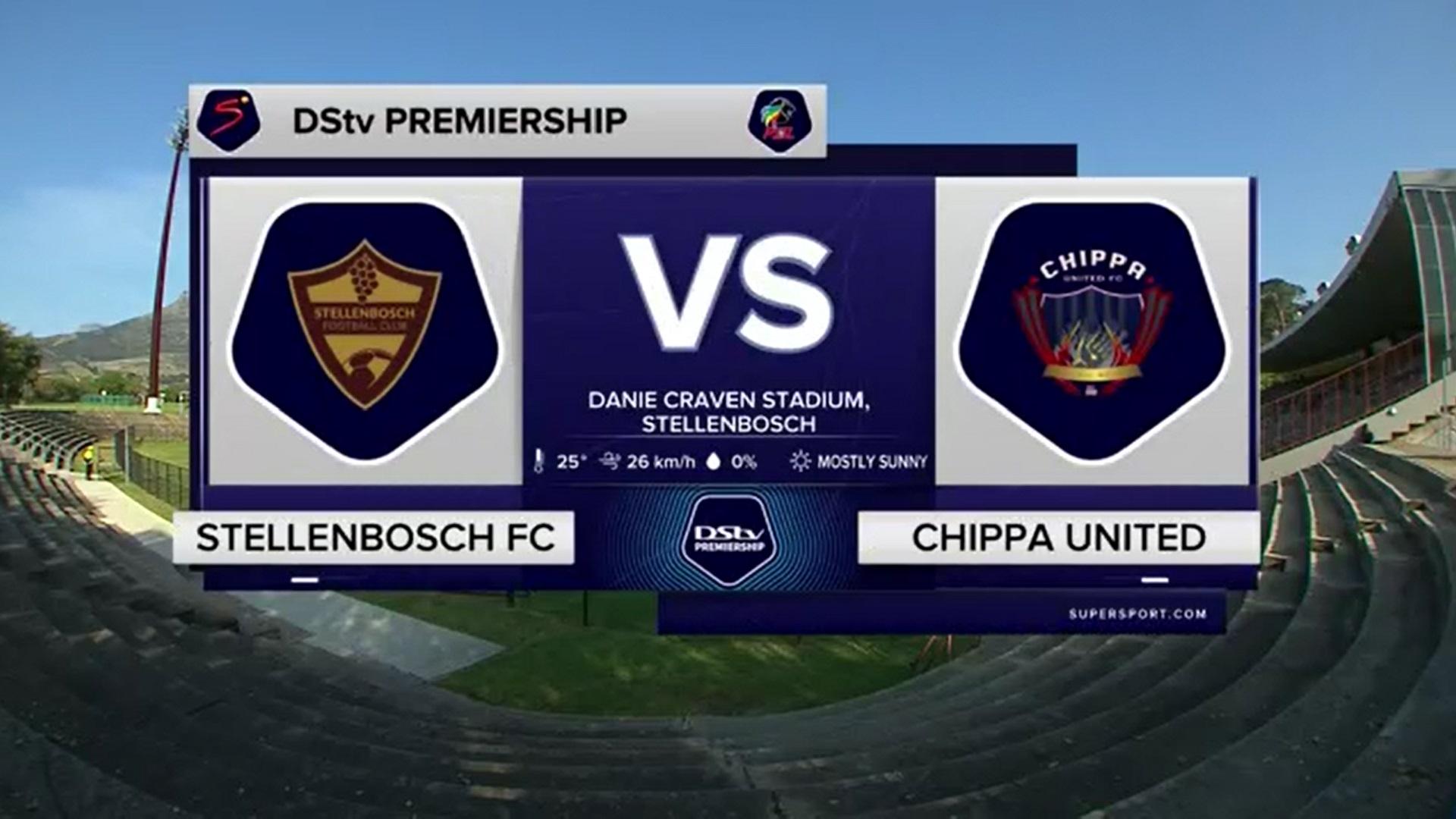 DStv Premiership | Stellenbosch FC v Chippa United | Highlights