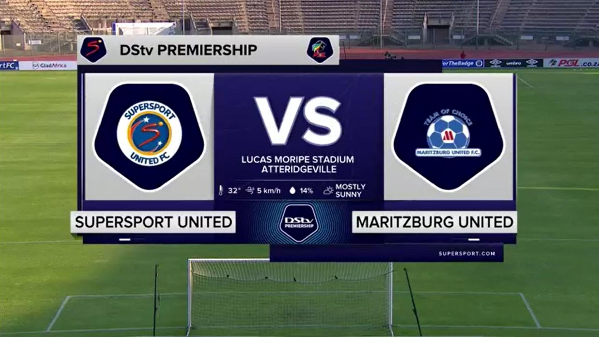 DStv Premiership | SuperSport United v Maritzburg United | Highlights