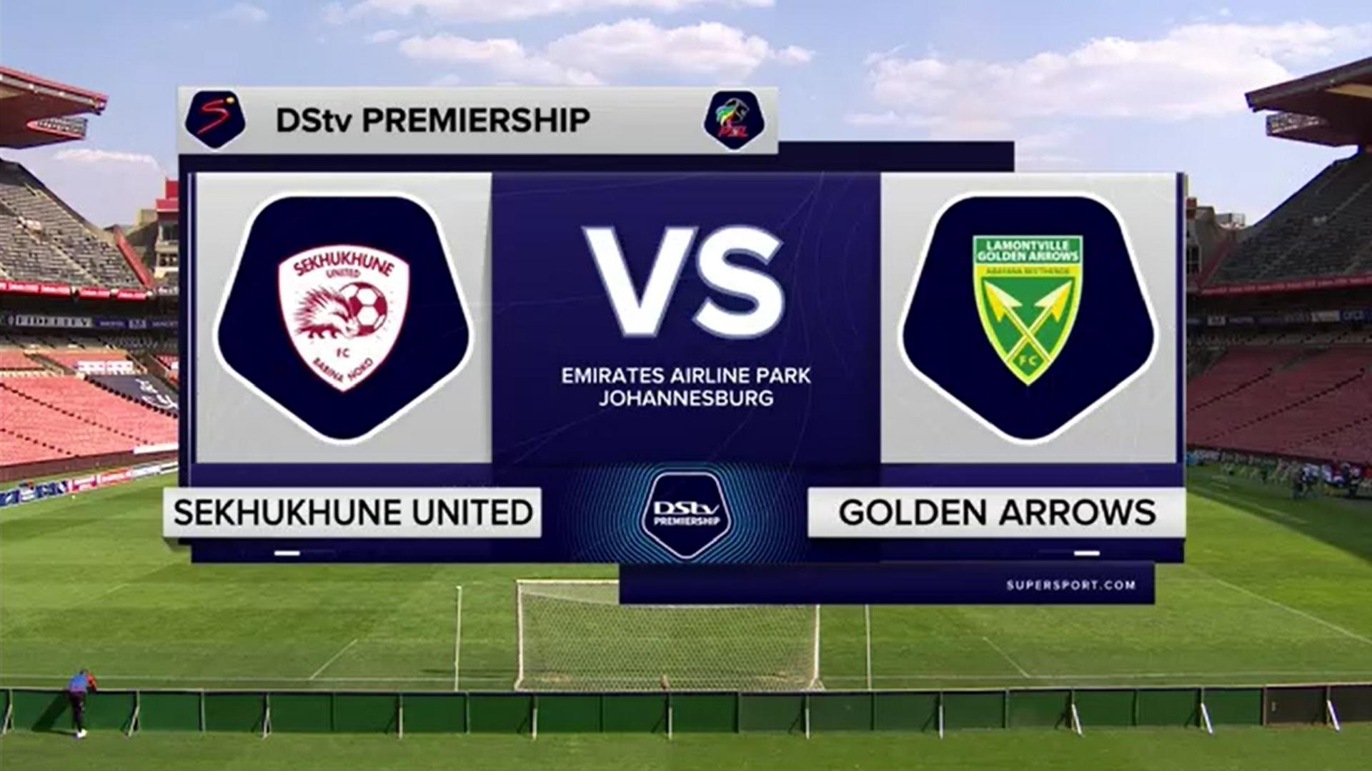 DStv Premiership | Sekhukhune United v Golden Arrows | Highlights