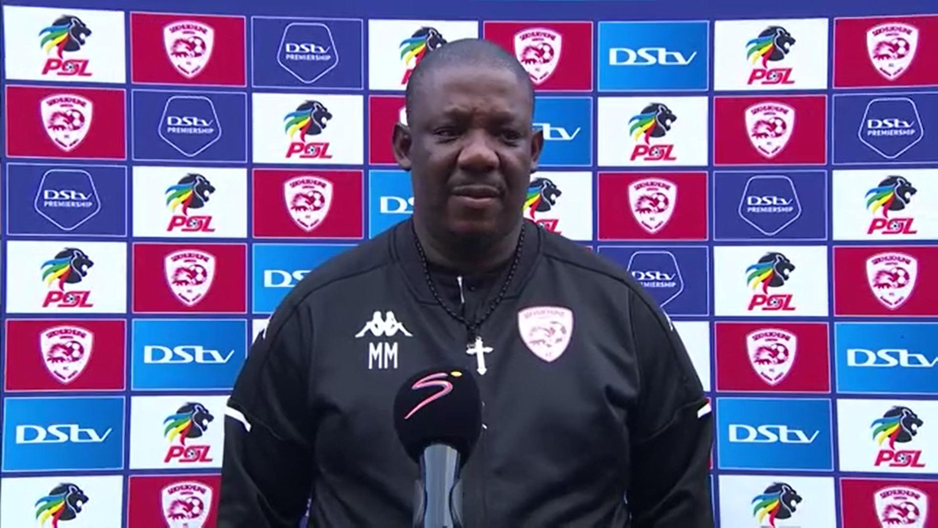 DStv Premiership | Sekhukhune United v Golden Arrows | | Post-match interview with MacDonald Makhubedu