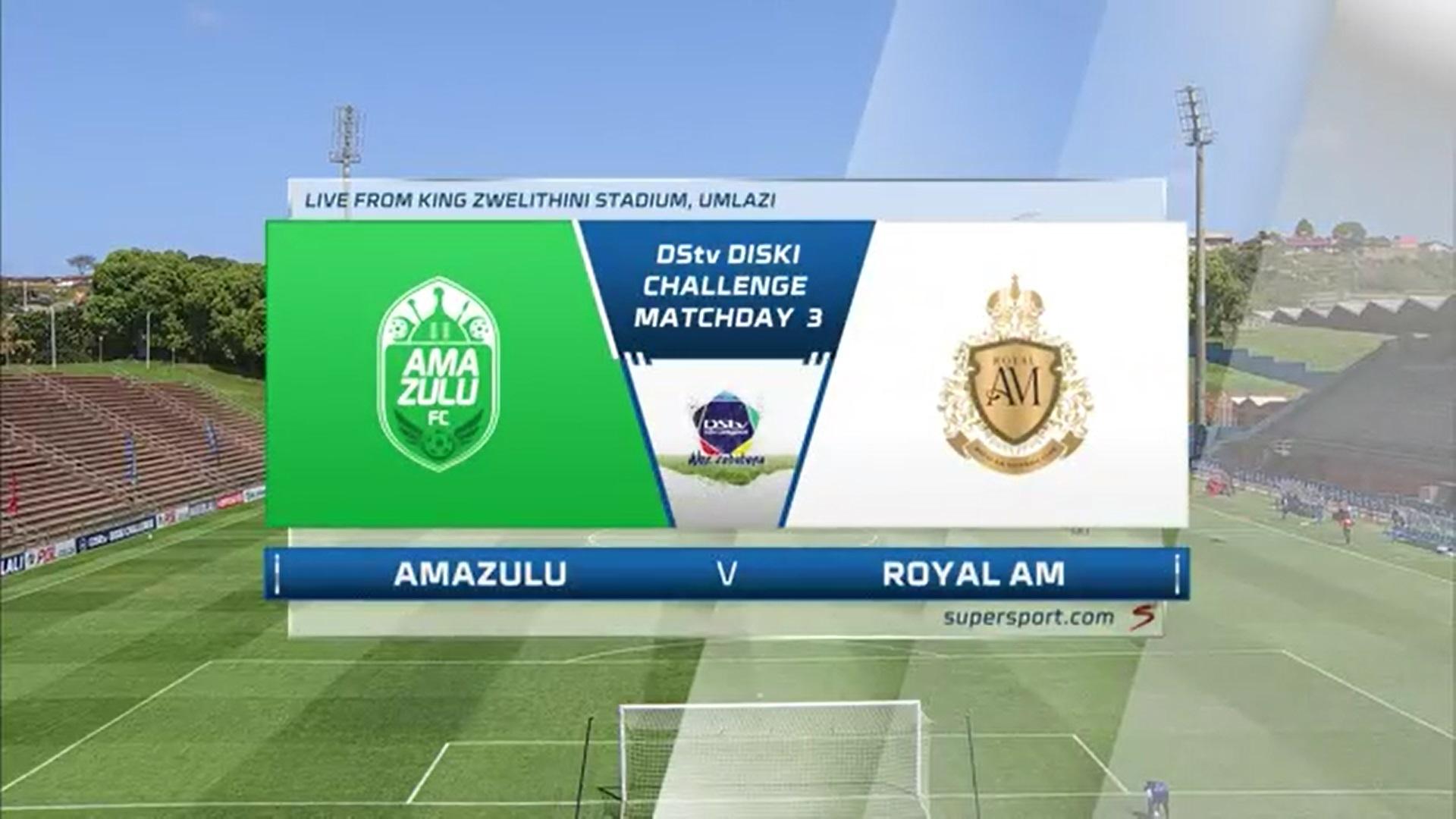 DStv Diski Challenge | AmaZulu Reserves v Royal AM Reserves | Highlights