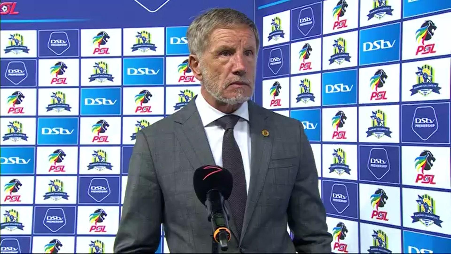 DStv Premiership | Marumo Gallants v Kaizer Chiefs | Post-match interview with Stuart Baxter
