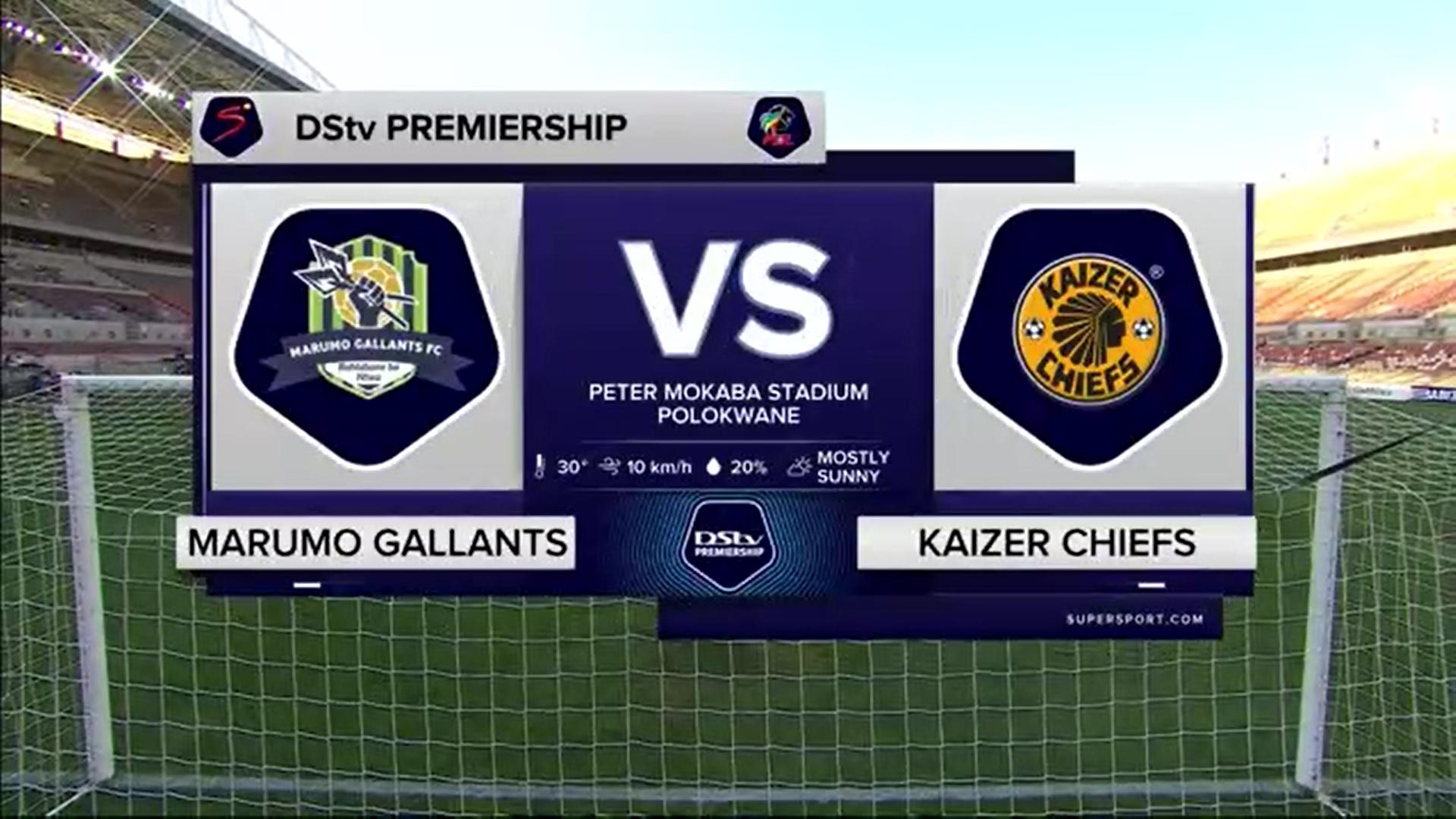 DStv Premiership | Marumo Gallants v Kaizer Chiefs | Highlights