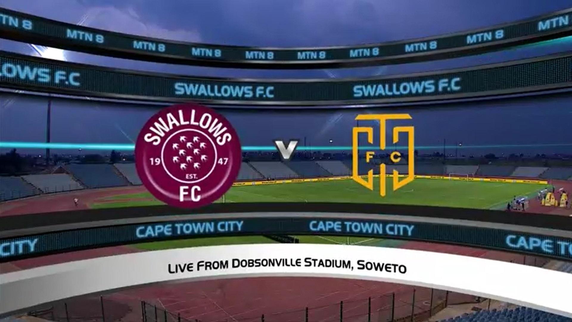 MTN8 | Semi-final 2 | 2nd Leg | Swallows FC v Cape Town City FC | Highlights