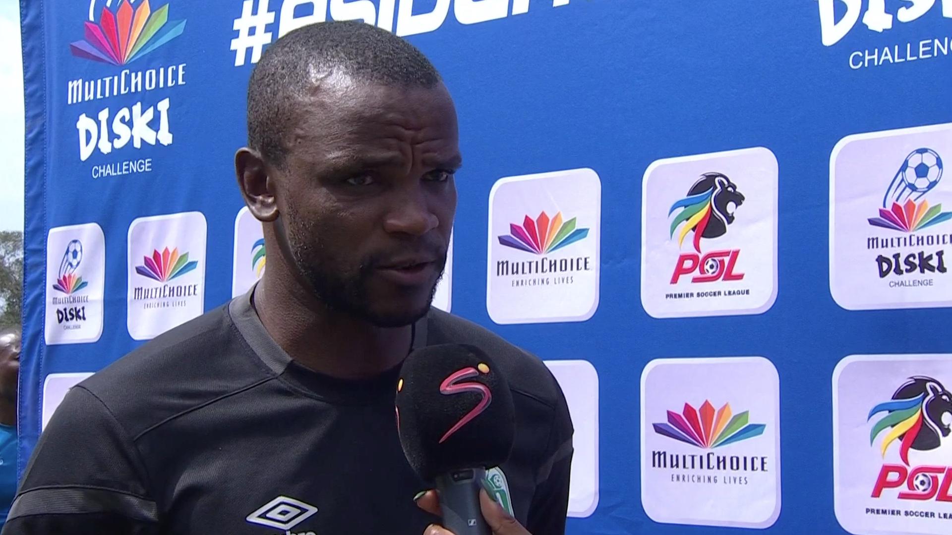 MultiChoice Diski Challenge   Maritzburg v AmaZulu   Post-match interview with Ayanda Dlamini