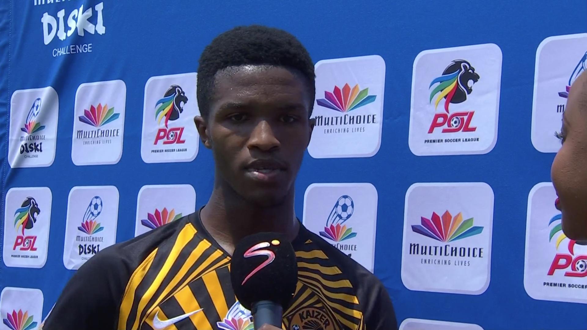 MultiChoice Diski Challenge | Stellenbosch v Kaizer Chiefs | Post-match interview with Tshepo Myeni