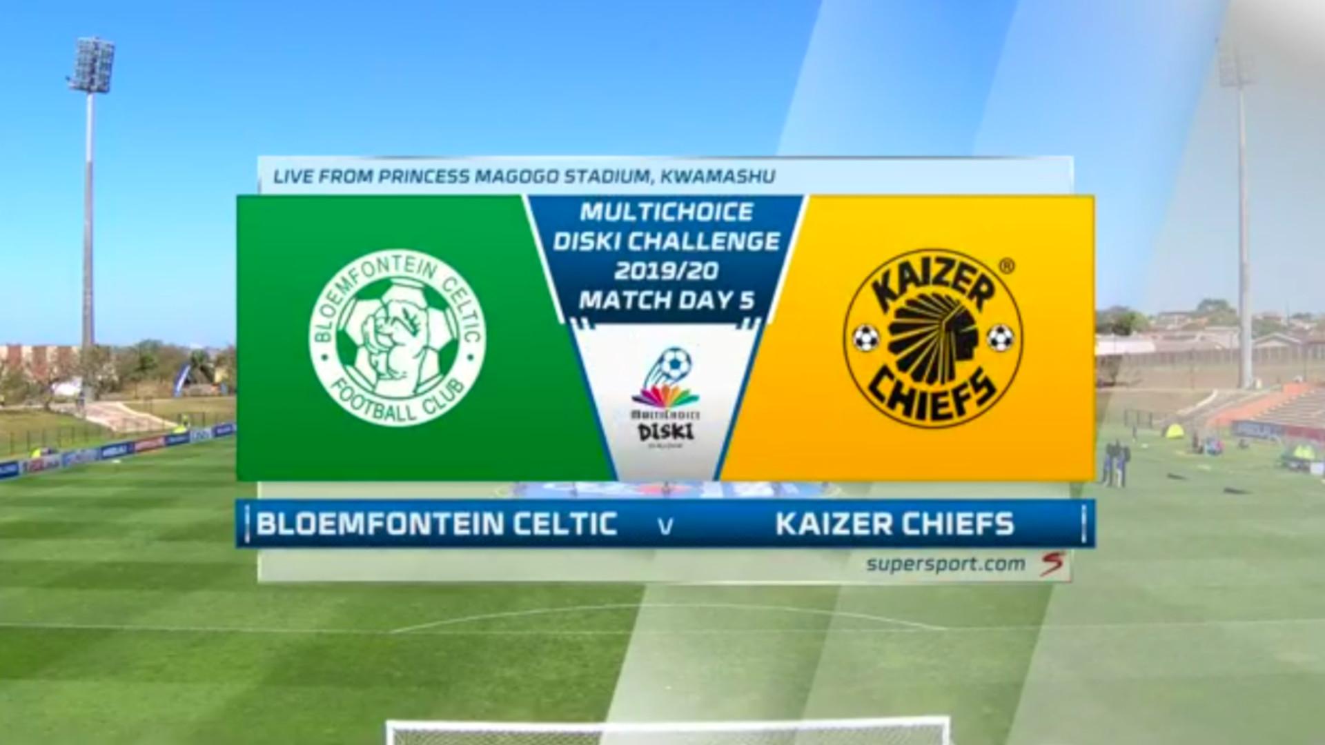 MultiChoice Diski Challenge   Bloemfontein Celtic v Kaizer Chiefs   Highlights
