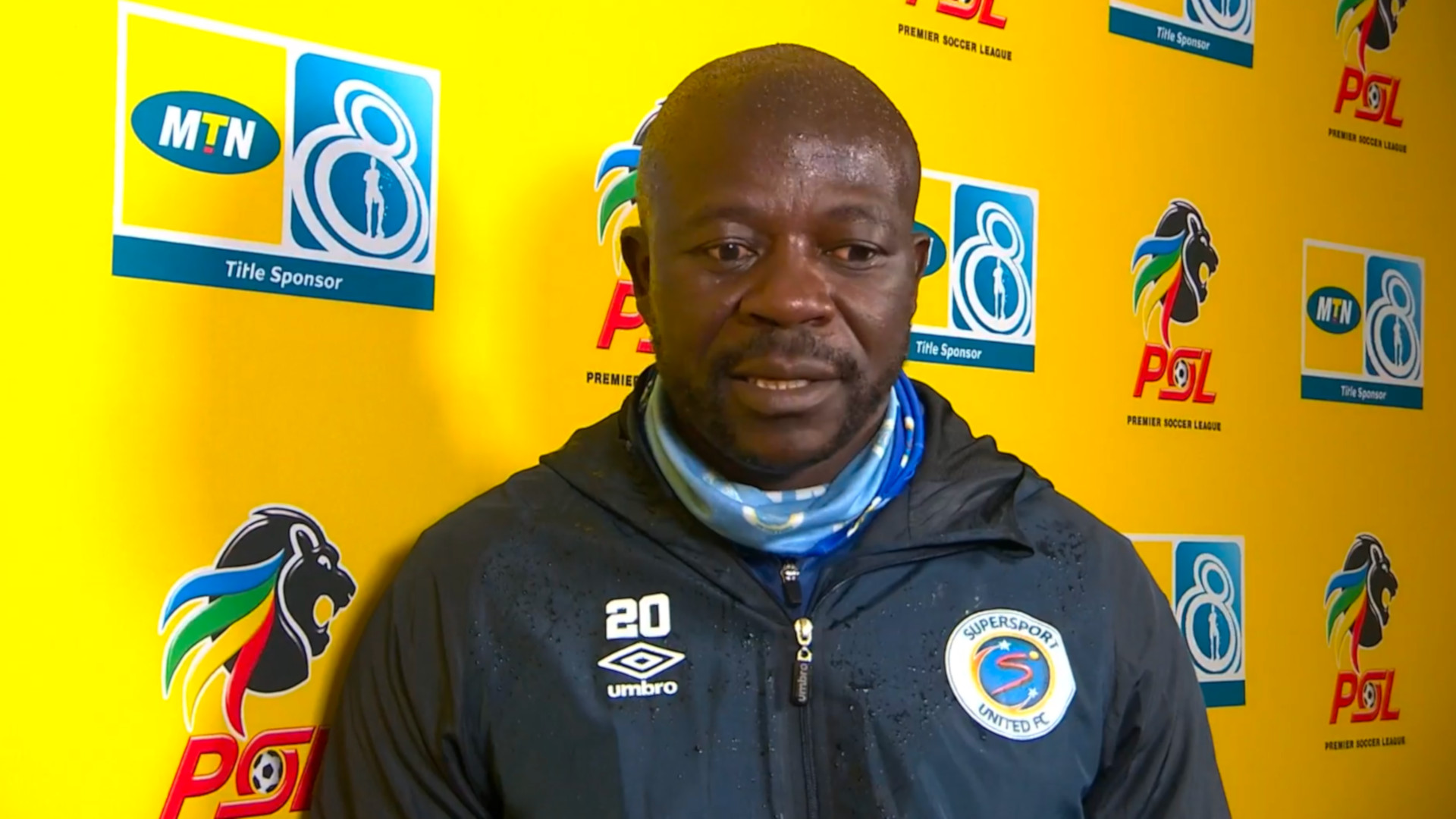 MTN8 | SF | 1st Leg | SuperSport United v Bloemfontein Celtic | Post-match interview with Kaitano Tembo