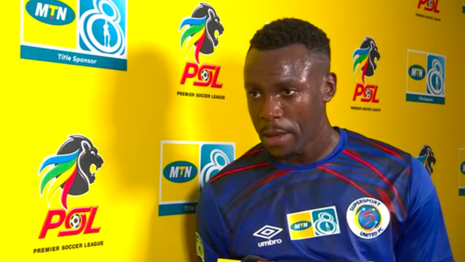 MTN8 | SF | 1st Leg | SuperSport United v Bloemfontein Celtic | Post-match interview with Ghampani Lungu