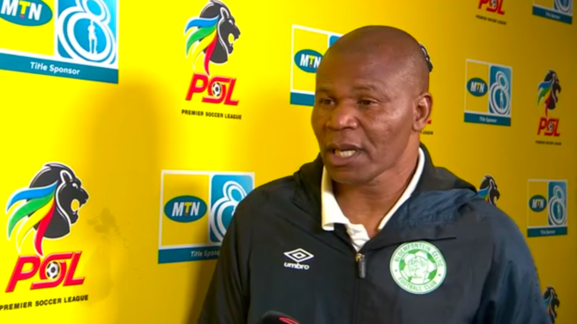 MTN8 | SF | 1st Leg | SuperSport United v Bloemfontein Celtic | Post-match interview with John Maduka