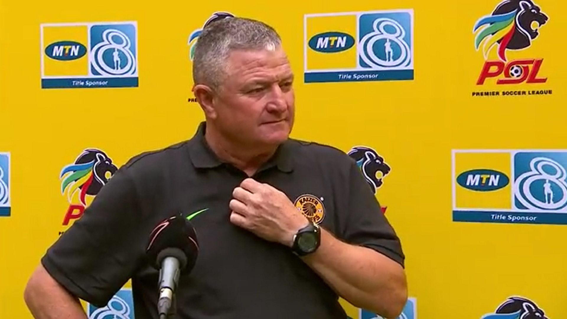 MTN8 | SF | 2nd Leg | Kaizer Chiefs v Orlando Pirates  | Post-match interview with Gavin Hunt