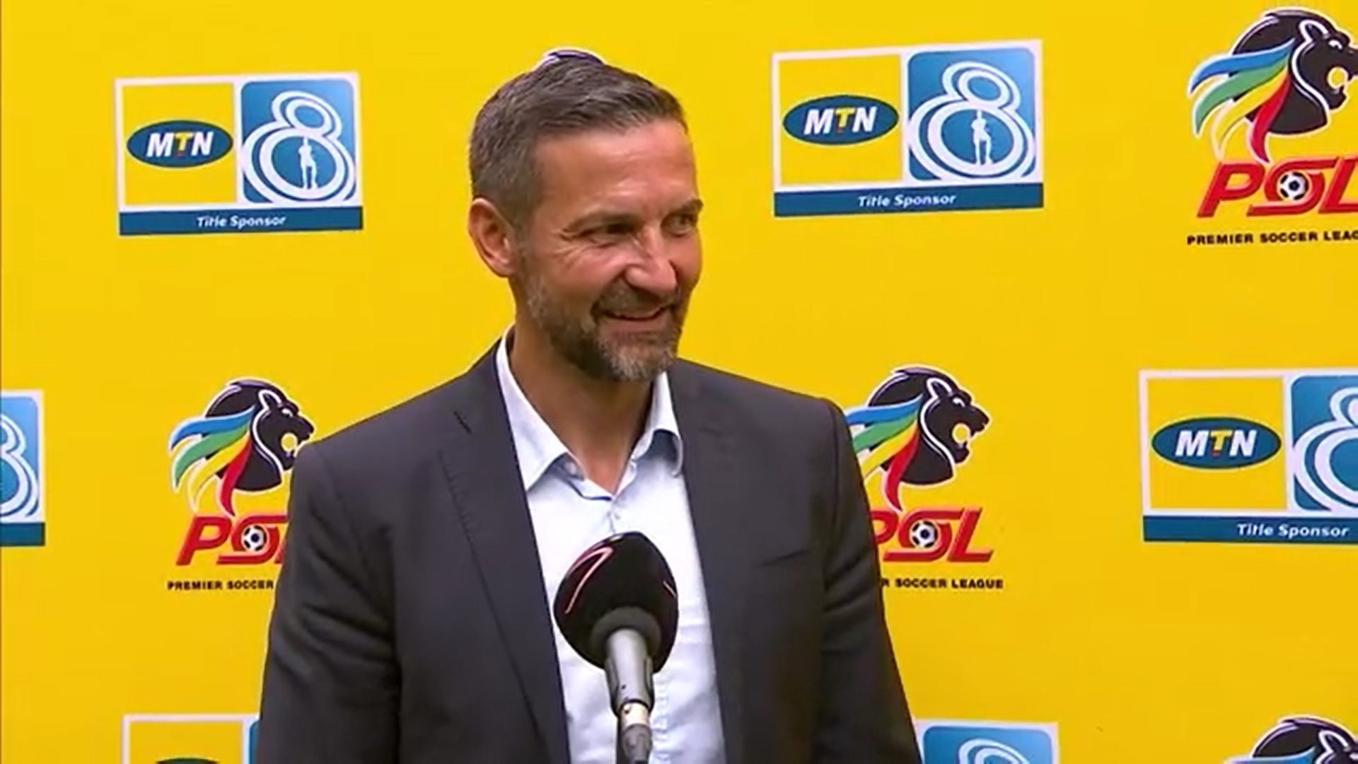 MTN8 | SF | 2nd Leg | Kaizer Chiefs v Orlando Pirates | Post-match interview with Josef Zinnbauer