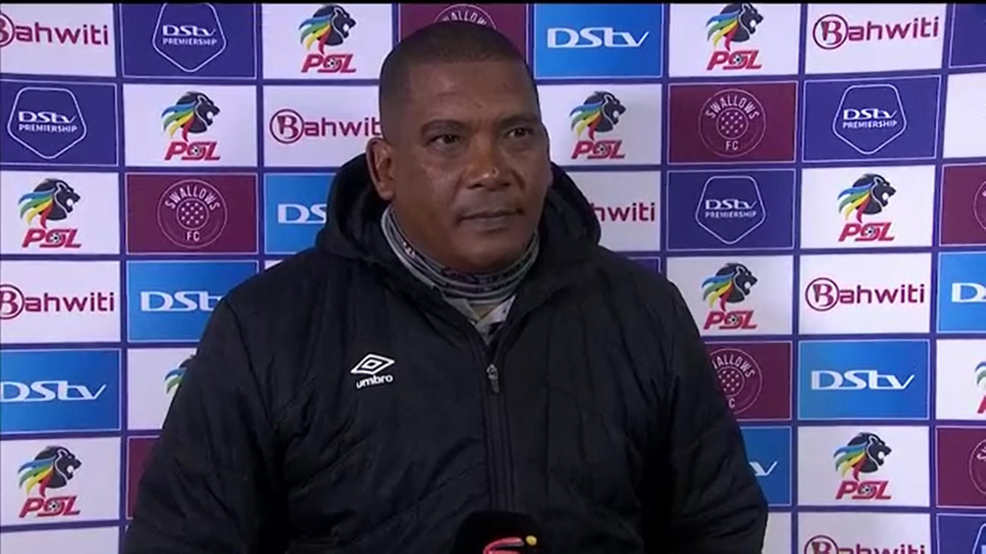 DStv Premiership | Swallows FC v TS Galaxy FC | Post-match interview with Brandon Truter