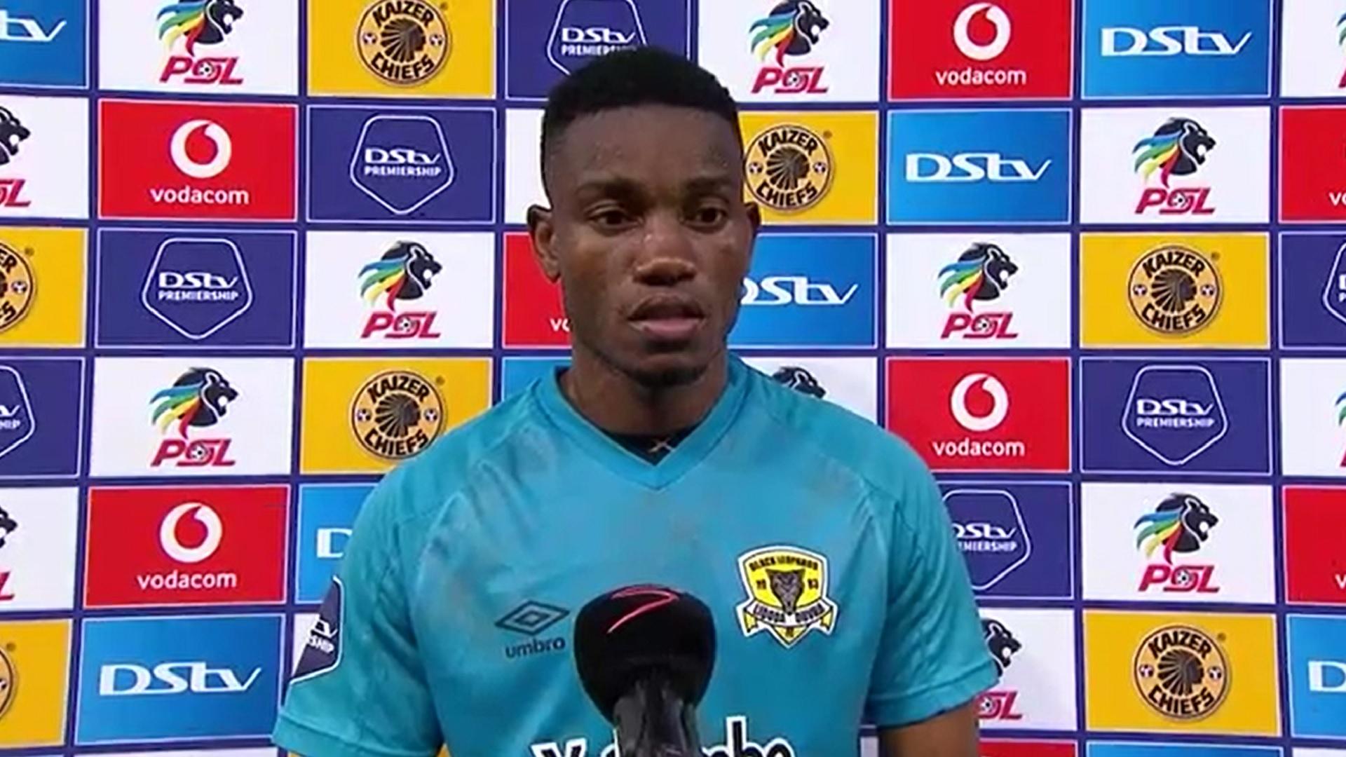 DStv Premiership   Kaizer Chiefs v Black Leopards   Post-match interview with Ovidy Karuru