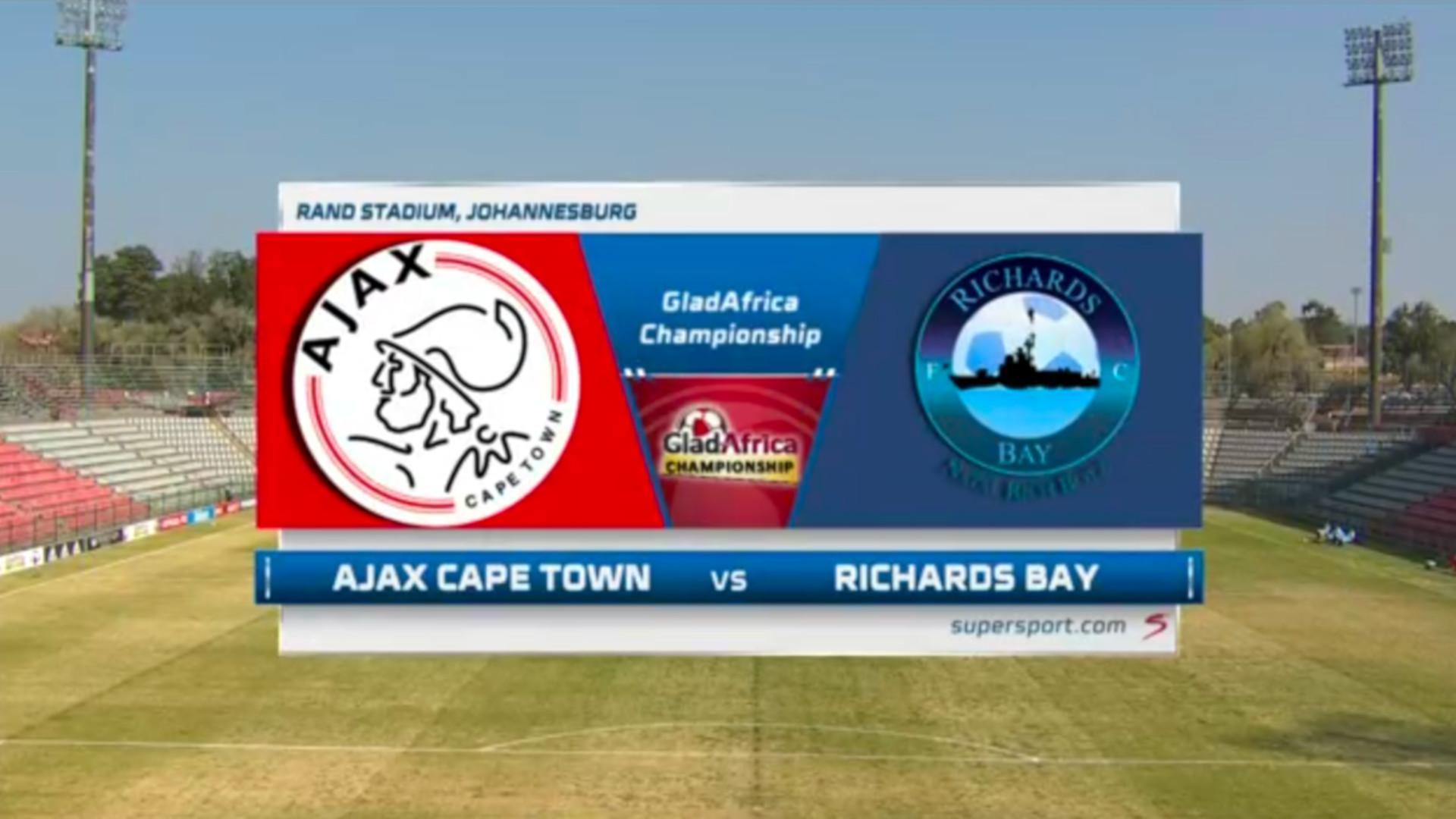 GladAfrica Championship   Ajax Cape Town v Richards Bay FC   Highlights