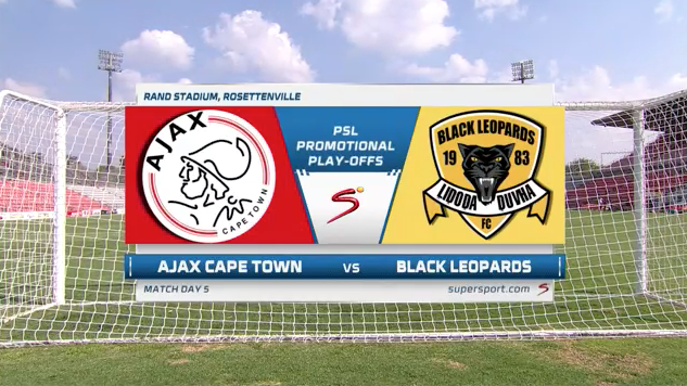 GladAfrica Championship | Ajax Cape Town v Black Leopards  | Highlights