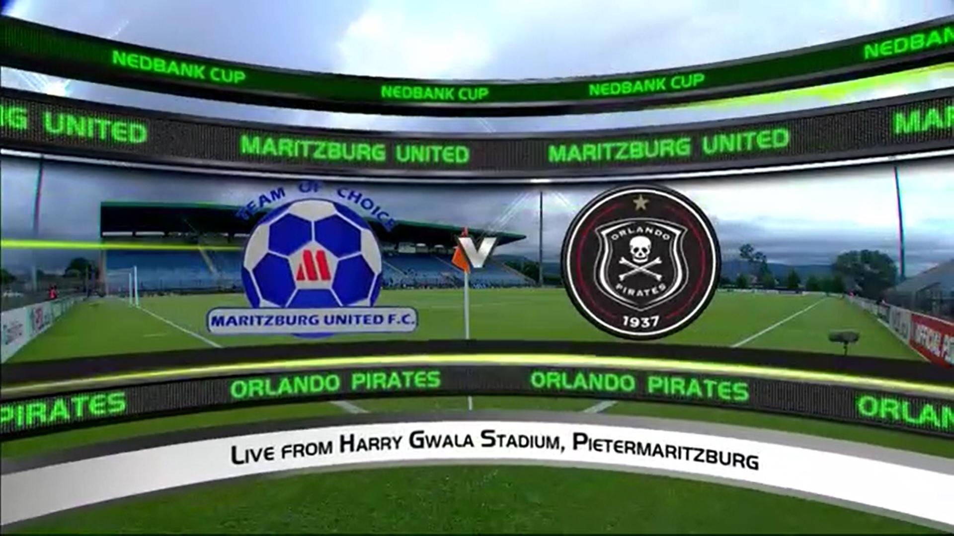 Nedbank Cup | Round of 16 | Maritzburg United v Orlando Pirates | Highlights