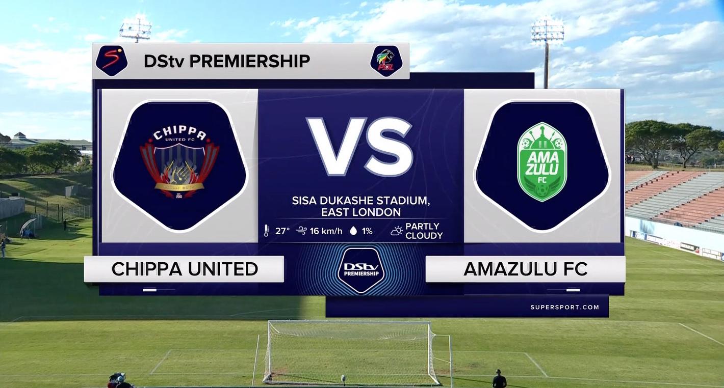DStv Premiership I Amazulu FC v SuperSport United l Highlights
