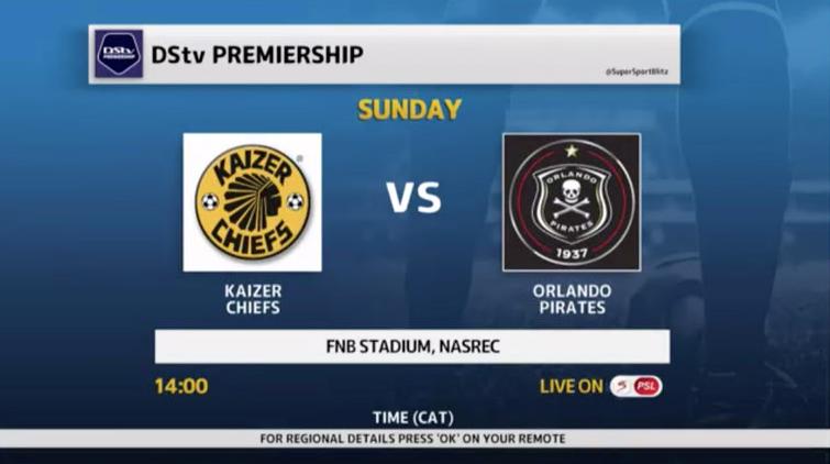 DStv Premiership I Soweto Derby | Broadcast Time