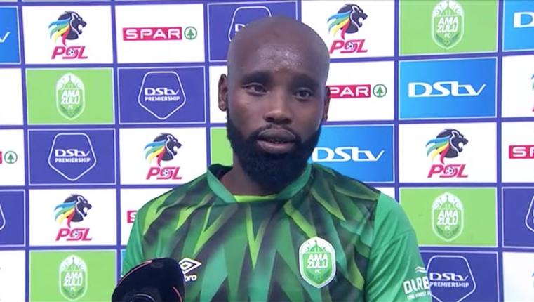 DStv Premiership | Amazulu FC v SuperSport United | Post-match interview with Makhehlene Makhaula