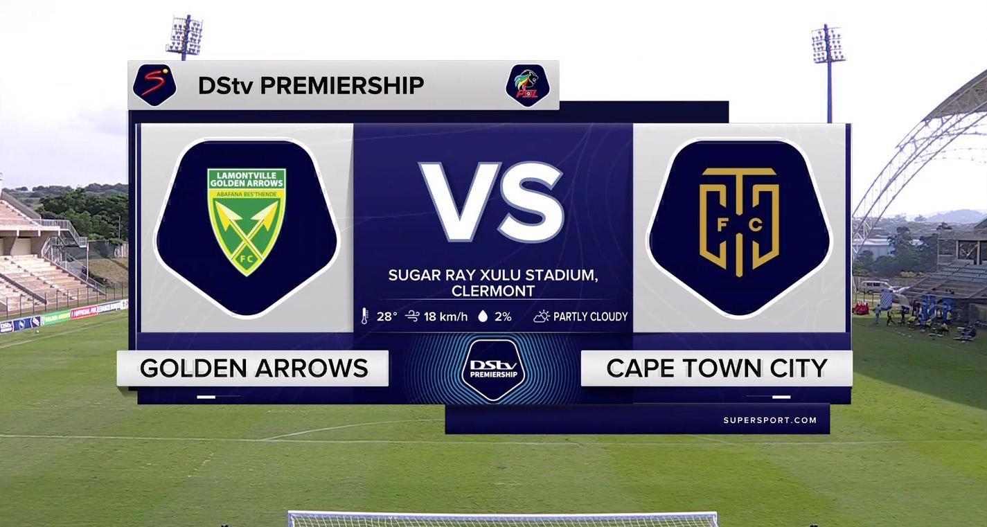 DStv Premiership I Golden Arrows v Cape Town City l Highlights
