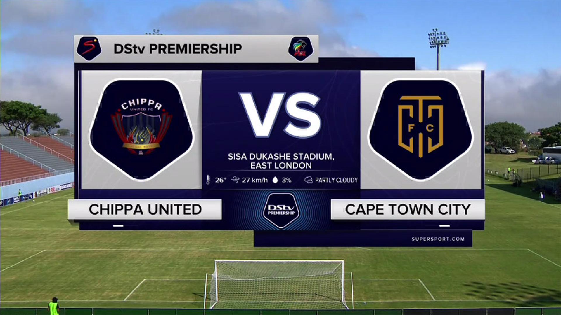 DStv Premiership I Chippa United v Cape Town City l Highlights