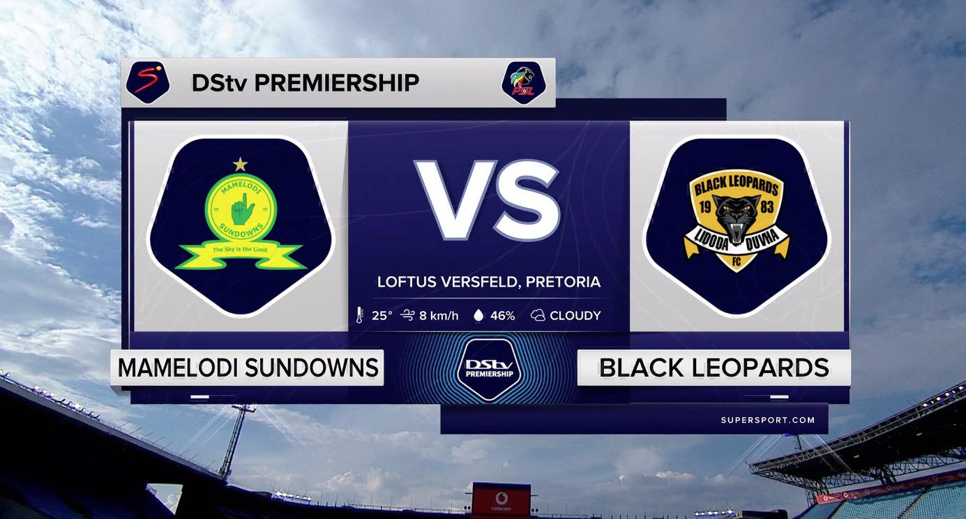 DStv Premiership I Mamelodi Sundowns v Black Leopards l Highlights