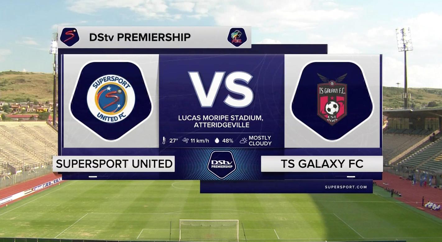 DStv Premiership I SuperSport United v TS Galaxy I Highlights