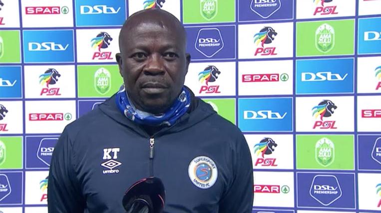 DStv Premiership | Amazulu FC v SuperSport United | Post-match interview with Kaitano Tembo