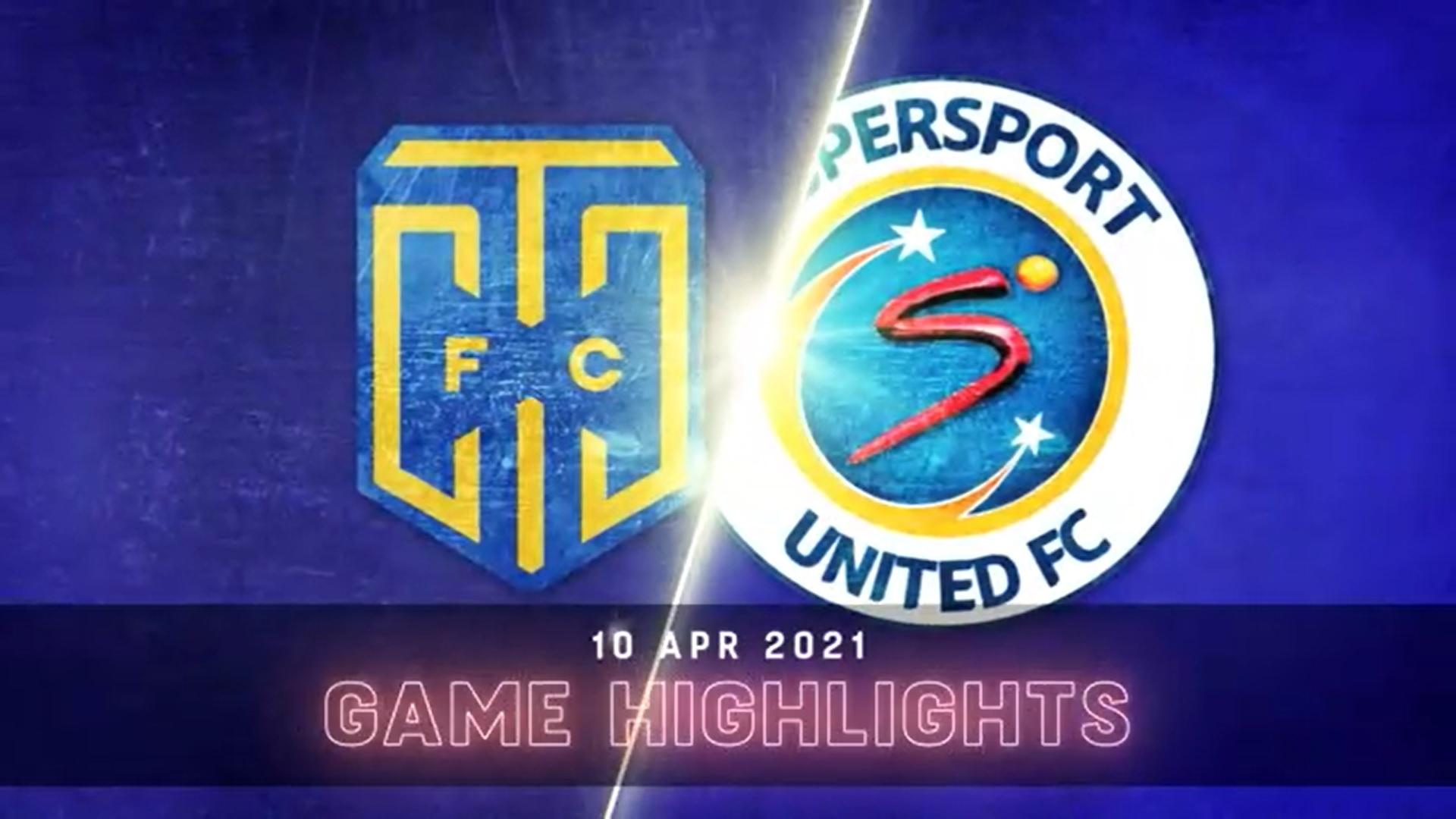 DStv Premiership I Cape Town City v SuperSport United l Highlights
