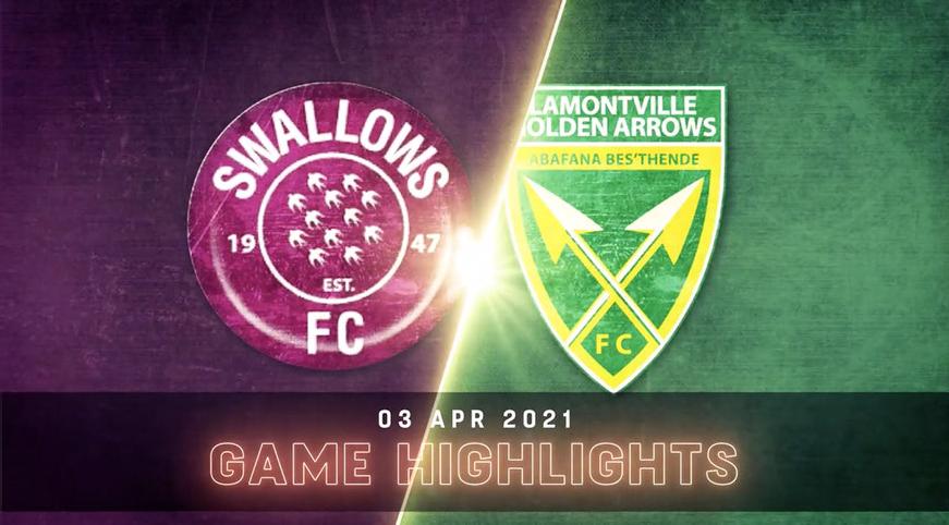 DStv Premiership I Swallows v Golden Arrows l Highlights
